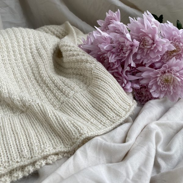 Alpaca scarf cream warm cozy Australian made