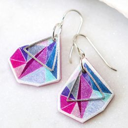 Next Romance Jewellery earrings Australia model small Make it collective online shop for handmade artisan gifts products