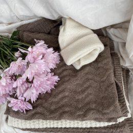Soft alpaca scarf