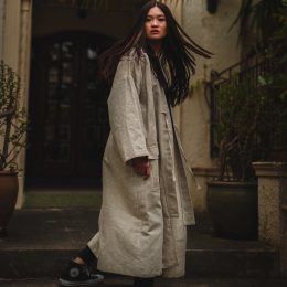 kodama apparel long coat