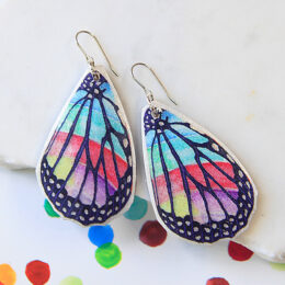 rainbow butterfly earrings insta NEXT ROMANCE vicki 2020