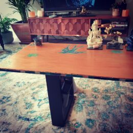 Marz Arts hand-made coffee table