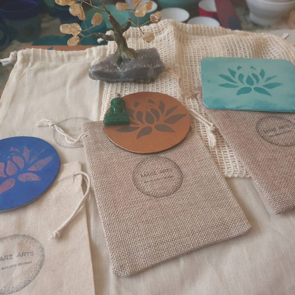 Marz Arts hand-made coasters