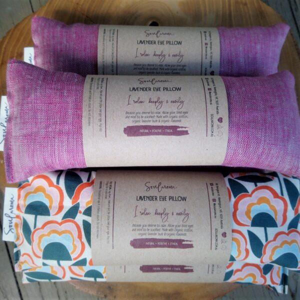soularoma organic lavender eye pillow