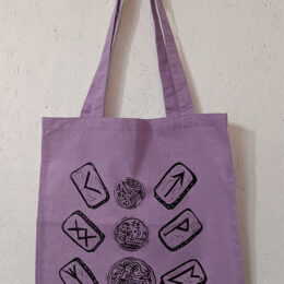 Ruins on Cotton Tote bags