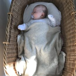 Pure Alpaca Baby Blanket